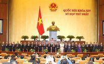 Ra mắt Chính phủ gồm 27 thành viên
