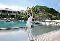 Hoa hậu Đông Nam Á Diệu Linh tư vấn về trang phục đi biển