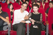 Mẹ Hồ Ngọc Hà trang điểm quý phái đến dự đêm nhạc của con gái