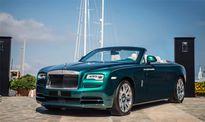 Cận cảnh bộ đôi Rolls-Royce phiên bản ngọc lục bảo
