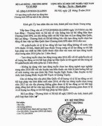 Nghệ An có 11 địa phương bị cấm xuất khẩu lao động san Hàn Quốc