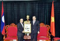 Lào và Đà Nẵng trao đổi kinh nghiệm quản lý, thu chi ngân sách