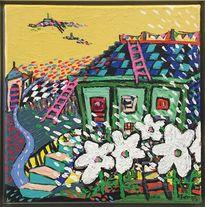 Thưởng lãm tranh của họa sĩ Hàn Quốc
