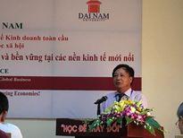 """38 diễn giả thế giới """"hiến kế"""" Việt Nam phát triển kinh tế bền vững"""