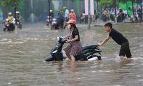 Hà Nội có nơi mưa tới 95mm, cảnh báo ngập úng