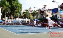 Bế mạc Giải quần vợt Cúp Truyền hình Nghệ An lần thứ 4 - năm 2016
