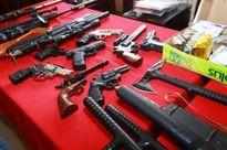 """Hà Nội: Làm rõ nhóm giết người và tàng trữ """"kho"""" vũ khí tại đường Láng"""