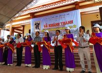 Khánh thành đền thờ Danh nhân văn hóa Đào Tấn tại Bình Định