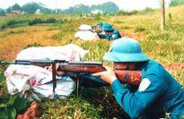 Nâng cao chất lượng dân quân tự vệ