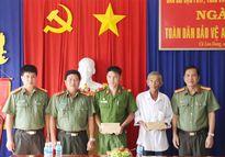 Báo CAND xây dựng 2 căn nhà tình nghĩa tại huyện Cù Lao Dung (Sóc Trăng)