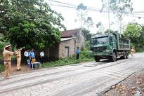 Bắc Giang: Ban ATGT tỉnh khảo sát thực trạng xe quá tải