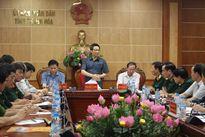 Phó Thủ Tướng Vũ Đức Đam kiểm tra công tác phòng chống bão số 3 tại Thanh Hóa
