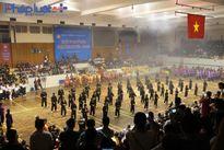 Hội diễn võ thuật cổ truyền lần thứ 32 đã chính thức khai mạc