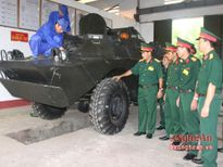 Hội thi Kho vũ khí trang bị kỹ thuật cấp chiến dịch toàn quân