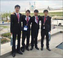 Cả 4 thí sinh Việt Nam đều đạt huy chương Olympic Tin học quốc tế