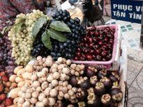 Bàng hoàng Cherry Mỹ bán nhan nhản ngoài đường