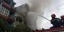 Hà Nội: Cháy nhà 5 tầng, 2 người thương vong
