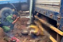 Xe tải gây tai nạn liên hoàn, 6 người thương vong