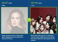 Thắng Adele, T-ara 'nắm chắc' cơ hội được Billboard vinh danh