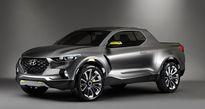 Xe bán tải Hyundai Santa Cruz đầu tiên sắp trình làng