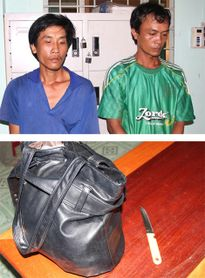 Hai đối tượng cướp giật bị Cảnh sát 113 bắt giữ