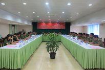 Giao ban hợp tác bảo vệ ANTT giữa tỉnh Nghệ An và tỉnh Xiêng Khoảng (Lào)