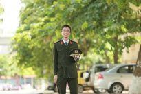 Nam sinh Học viên An ninh duy nhất được phong hàm trung úy