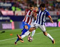 Atletico bị đội mới lên hạng cầm chân ở La Liga