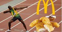 Hãy xem Usain Bolt ăn gì mà chạy nhanh như thế