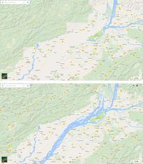 Bản đồ Google Maps phiên bản Trung Quốc có gì 'lạ'?