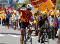 Chặng 1 Giải xe đạp quốc tế VTV 2016: Duy Nhân thâu tóm mọi danh hiệu