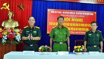 Cảnh sát phòng cháy và cơ sở quốc phòng ký kết quy chế phòng cháy chữa cháy
