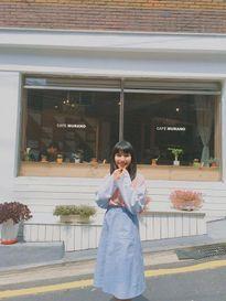 Hotgirl Châu Bùi đăng hình ngao du Hàn Quốc