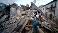 Chùm ảnh: Miền Trung Italia tan hoang sau động đất