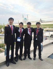Gặp đoàn Việt Nam giành giải cao chưa từng có tại Olympic Tin học Quốc tế 2016