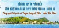 Công nghệ thông tin và truyền thông gắn liền với biển, đảo Việt Nam