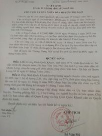 Tiền Giang: Nhiều cán bộ xã phải ' ngồi chơi, xơi nước'