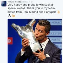 Ronaldo đáp trả Pique sau khi Real bị cạnh khóe