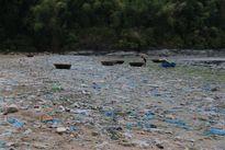Biển một bên và rác…một bên