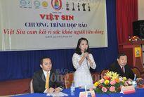 Việt Sin lên tiếng sau sự cố thực phẩm kém chất lượng