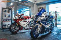 Siêu môtô tiền tỷ MV Agusta F4 và BMW HP4 tại Sài Gòn