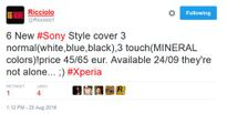 Sony Xperia XR và Xperia X Compact ra mắt ngày 24 tháng 9