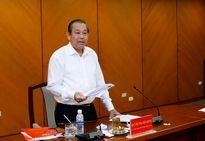 Phó thủ tướng Trương Hòa Bình họp xử lý khiếu nại đông người