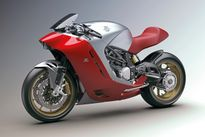 MV Agusta tiết lộ hình ảnh mẫu mô tô mới được thiết kế bởi Zagato