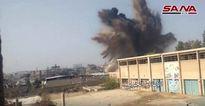 Video: Quân Syria phá hủy đường hầm của các phần tử cực đoan ở Damascene