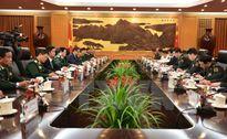 Đoàn đại biểu quân sự cấp cao Việt Nam thăm chính thức Trung Quốc