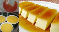 Cách làm bánh flan cơ bản láng mịn thơm ngậy, không bị rổ