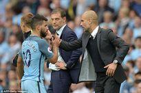 Đánh nguội thô thiển, Aguero nghỉ trận derby Man City vs Man Utd