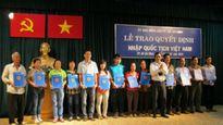 Đối tượng nào xin thôi quốc tịch Việt Nam nhiều nhất?