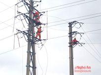 Đảm bảo cấp điện ổn định, an toàn trong mùa mưa bão